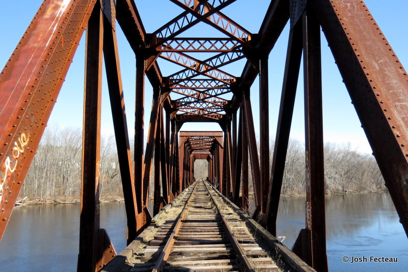 Photo of Railroad bridge over Saco River
